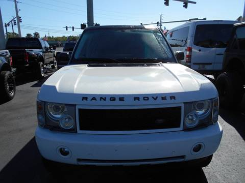 2004 Land Rover Range Rover for sale at Celebrity Auto Sales in Port Saint Lucie FL