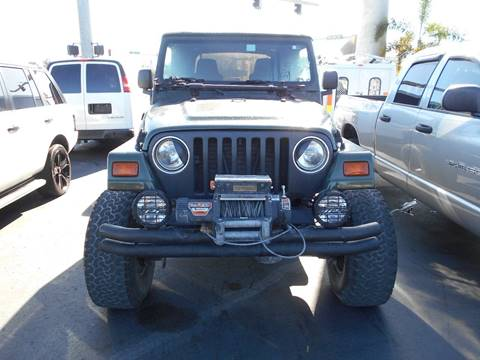 1998 Jeep Wrangler for sale at Celebrity Auto Sales in Port Saint Lucie FL