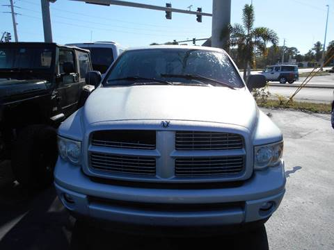 2004 Dodge Ram Pickup 1500 for sale at Celebrity Auto Sales in Port Saint Lucie FL