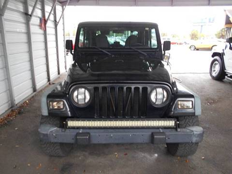 2000 Jeep Wrangler for sale at Celebrity Auto Sales in Port Saint Lucie FL