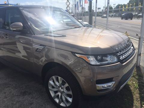 2016 Land Rover Range Rover Sport for sale at Quality  Engines in Doral FL