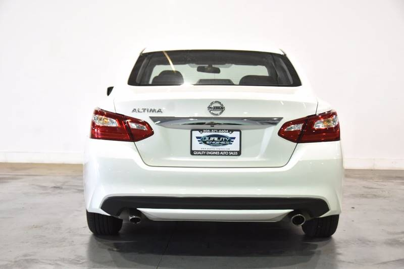 2016 Nissan Altima for sale at Quality  Engines Auto Sales in Doral FL