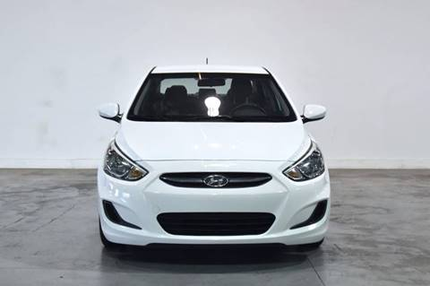 2015 Hyundai Accent for sale at Quality  Engines Auto Sales in Doral FL