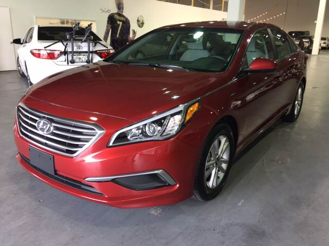 2016 Hyundai Sonata for sale at Quality  Engines Auto Sales in Doral FL