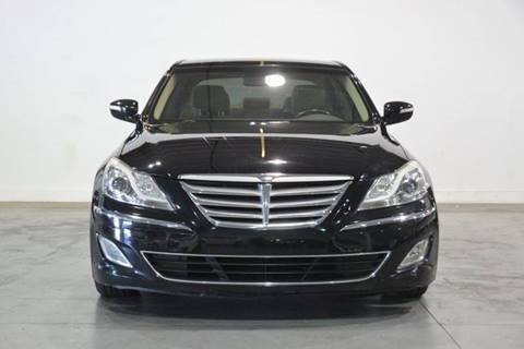 2012 Hyundai Genesis for sale at Quality  Engines Auto Sales in Doral FL