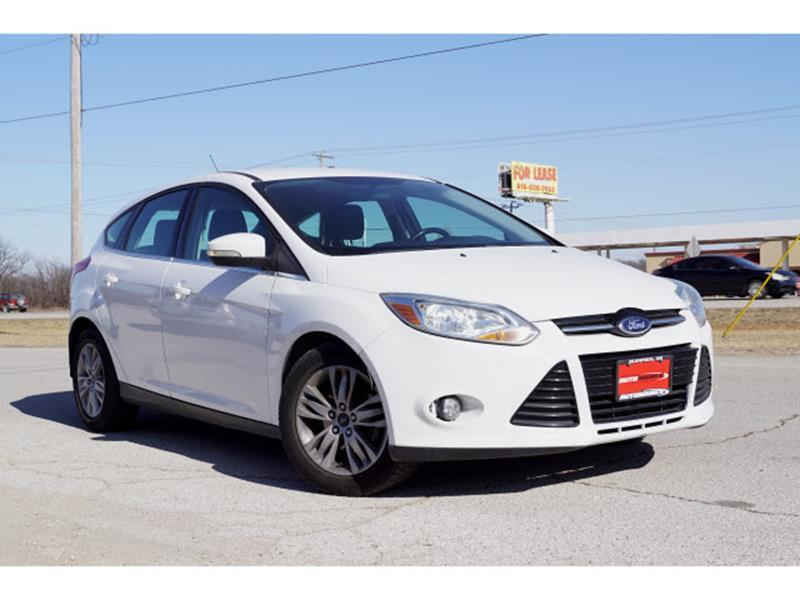 2012 Ford Focus for sale at Sand Springs Auto Source in Sand Springs OK
