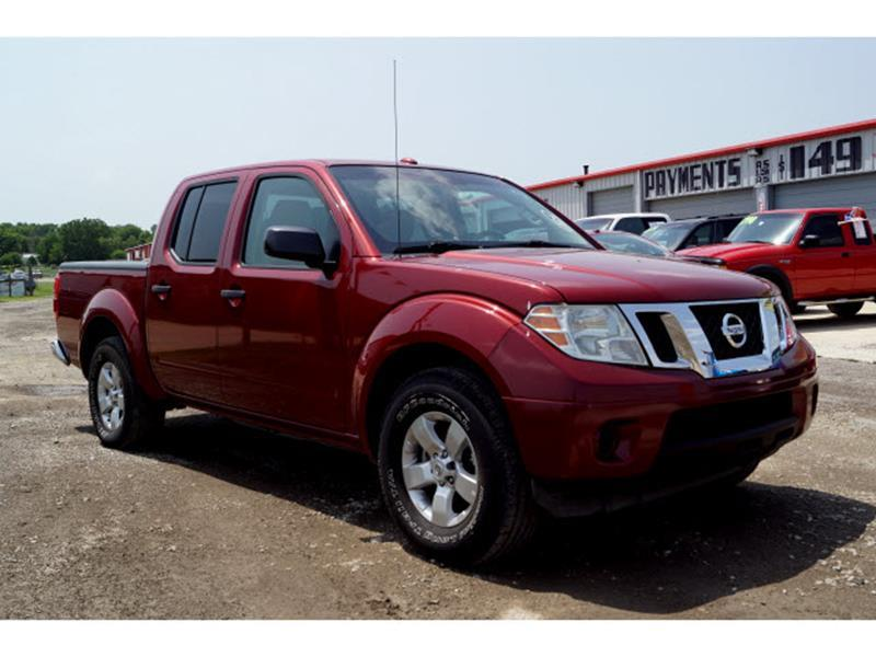 2013 Nissan Frontier 4x2 SV 4dr Crew Cab 5 Ft. SB Pickup 5A   Sand