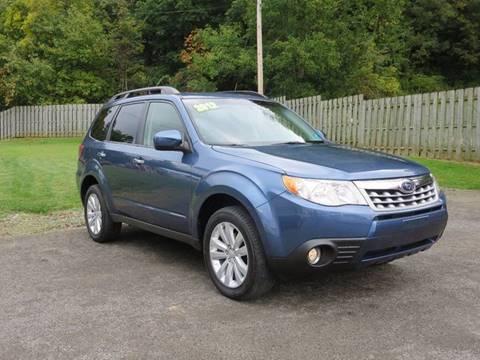 2012 Subaru Forester for sale in Elkins, WV