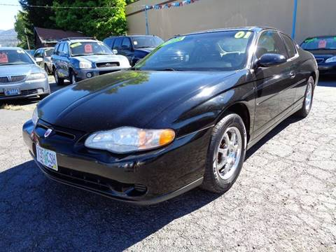 2001 Chevrolet Monte Carlo for sale in Grants Pass, OR