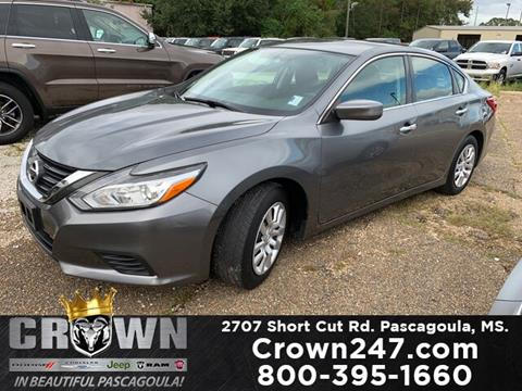 2016 Nissan Altima for sale in Pascagoula, MS