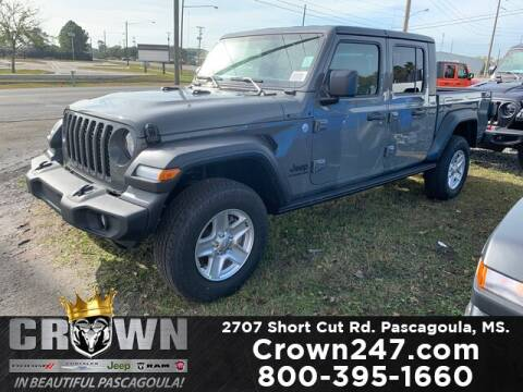 2020 Jeep Gladiator for sale at CROWN  DODGE CHRYSLER JEEP RAM FIAT in Pascagoula MS