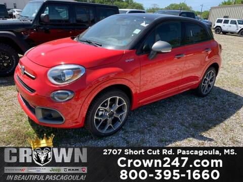 2020 FIAT 500X for sale at CROWN  DODGE CHRYSLER JEEP RAM FIAT in Pascagoula MS
