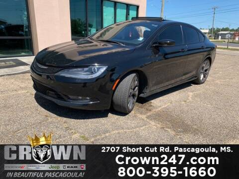 2015 Chrysler 200 for sale at CROWN  DODGE CHRYSLER JEEP RAM FIAT in Pascagoula MS