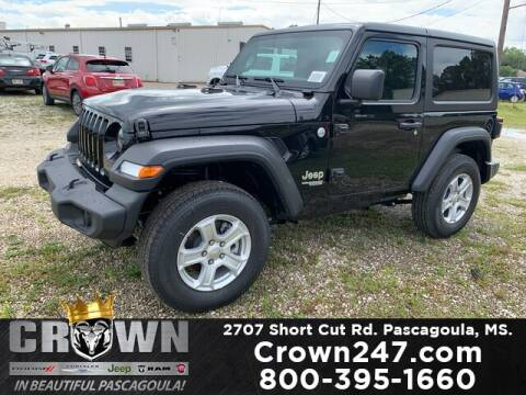 2020 Jeep Wrangler for sale at CROWN  DODGE CHRYSLER JEEP RAM FIAT in Pascagoula MS