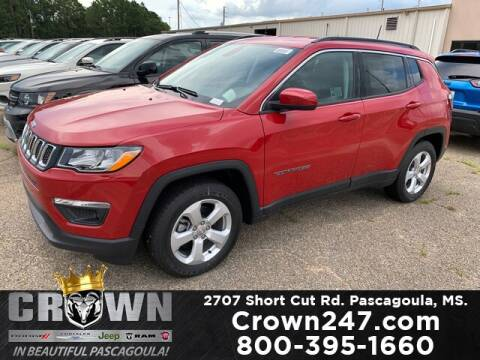 2020 Jeep Compass for sale at CROWN  DODGE CHRYSLER JEEP RAM FIAT in Pascagoula MS