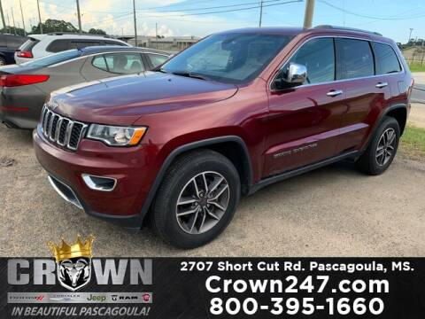 2019 Jeep Grand Cherokee for sale at CROWN  DODGE CHRYSLER JEEP RAM FIAT in Pascagoula MS