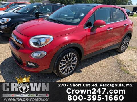 2018 FIAT 500X for sale at CROWN  DODGE CHRYSLER JEEP RAM FIAT in Pascagoula MS