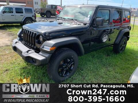 2020 Jeep Wrangler Unlimited for sale at CROWN  DODGE CHRYSLER JEEP RAM FIAT in Pascagoula MS