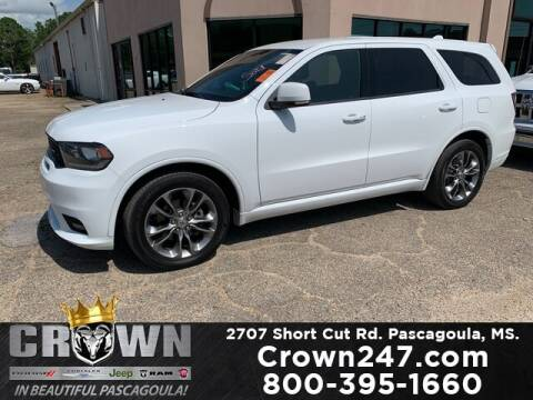 2019 Dodge Durango for sale at CROWN  DODGE CHRYSLER JEEP RAM FIAT in Pascagoula MS