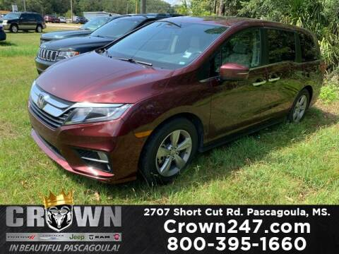 2019 Honda Odyssey for sale at CROWN  DODGE CHRYSLER JEEP RAM FIAT in Pascagoula MS