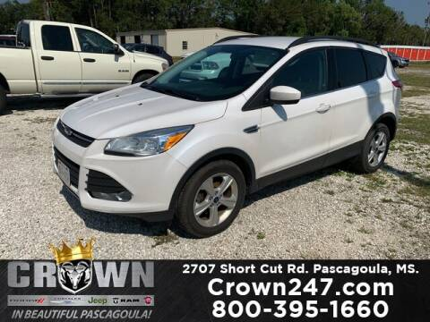 2016 Ford Escape for sale at CROWN  DODGE CHRYSLER JEEP RAM FIAT in Pascagoula MS