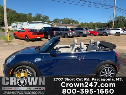 2016 MINI Convertible for sale at CROWN  DODGE CHRYSLER JEEP RAM FIAT in Pascagoula MS