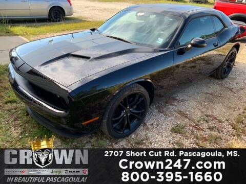 2016 Dodge Challenger for sale at CROWN  DODGE CHRYSLER JEEP RAM FIAT in Pascagoula MS