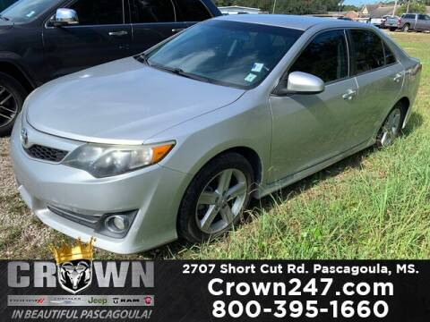 2014 Toyota Camry for sale at CROWN  DODGE CHRYSLER JEEP RAM FIAT in Pascagoula MS