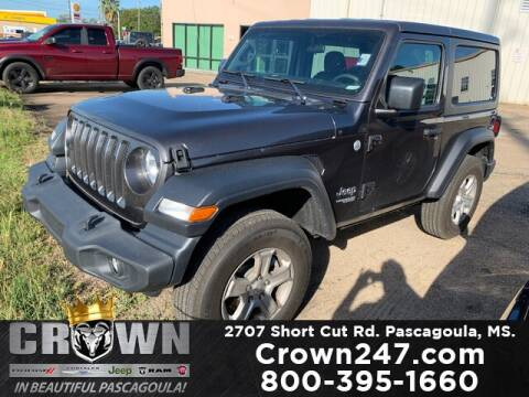 2019 Jeep Wrangler for sale at CROWN  DODGE CHRYSLER JEEP RAM FIAT in Pascagoula MS