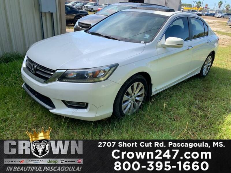 2013 Honda Accord for sale at CROWN  DODGE CHRYSLER JEEP RAM FIAT in Pascagoula MS