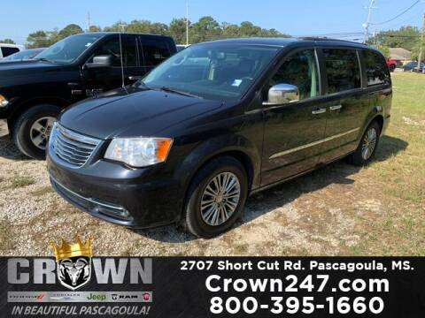 2014 Chrysler Town and Country for sale at CROWN  DODGE CHRYSLER JEEP RAM FIAT in Pascagoula MS