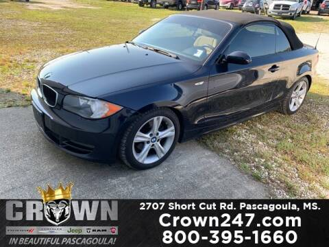 2008 BMW 1 Series for sale at CROWN  DODGE CHRYSLER JEEP RAM FIAT in Pascagoula MS