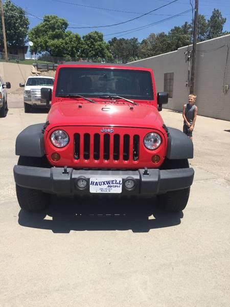2012 Jeep Wrangler Unlimited 4x4 Sport 4dr SUV - Mc Cook NE