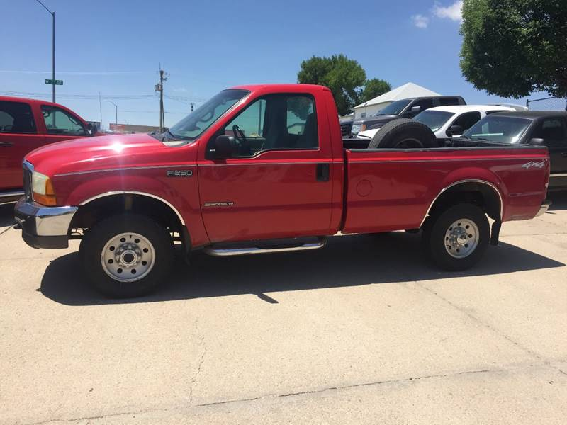 1999 Ford F-250 Super Duty 2dr XLT 4WD Standard Cab LB - Mc Cook NE