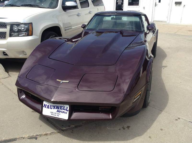 1980 Chevrolet Corvette 2 DOOR COUPE T-TOP - Mc Cook NE
