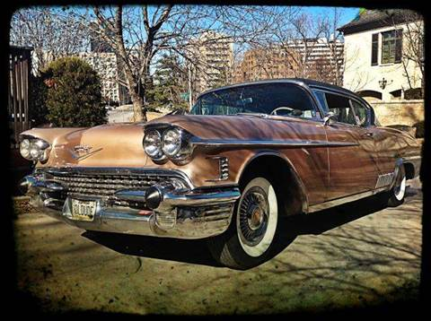 1958 Cadillac Eldorado for sale at KC Vintage Cars in Kansas City MO