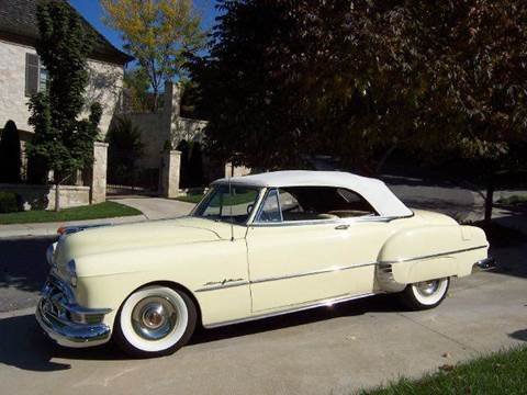 1950 Pontiac Chieftain for sale at KC Vintage Cars in Kansas City MO