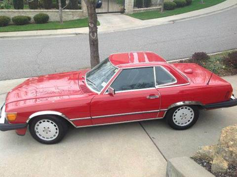1986 Mercedes-Benz 560-Class for sale at KC Vintage Cars in Kansas City MO