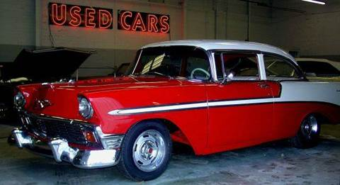 1956 Chevrolet Bel Air for sale at KC Vintage Cars in Kansas City MO