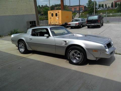 1976 Pontiac Trans Am for sale at KC Vintage Cars in Kansas City MO