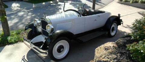 1925 Hupmobile Model R Roadster for sale at KC Vintage Cars in Kansas City MO