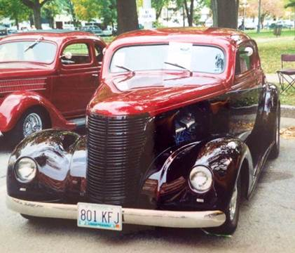 1938 Chevrolet Coupe Master Deluxe for sale at KC Vintage Cars in Kansas City MO