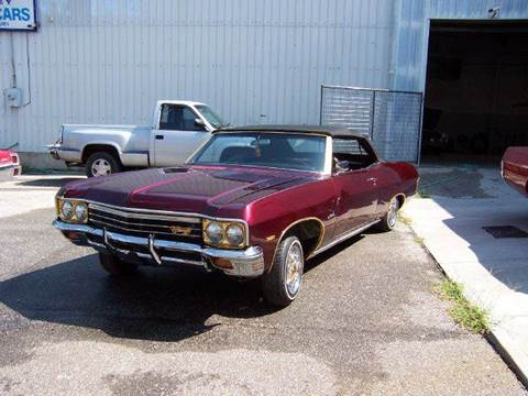 1970 Chevrolet Impala Convertible for sale at KC Vintage Cars in Kansas City MO