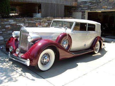1935 Packard Series #1202 for sale at KC Vintage Cars in Kansas City MO