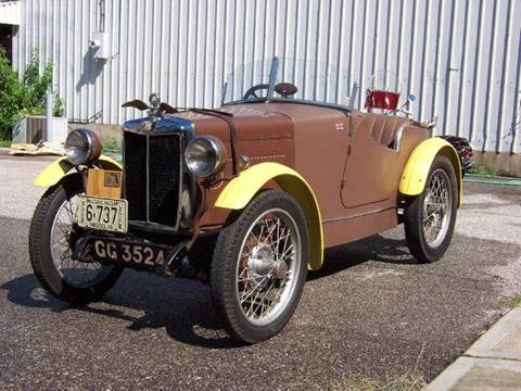 1930 MG Midget for sale at KC Vintage Cars in Kansas City MO