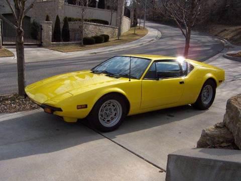 1971 Pantera Coupe