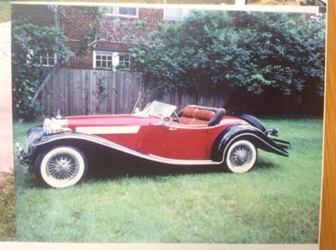 1936 Mercedes-Benz 500K for sale at KC Vintage Cars in Kansas City MO