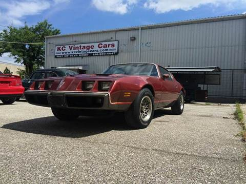 1979 Pontiac Firebird for sale at KC Vintage Cars in Kansas City MO