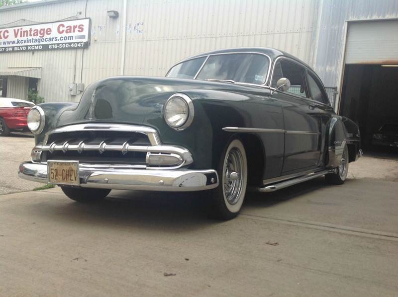 1952 Chevrolet Styleline DeLuxe for sale at KC Vintage Cars in Kansas City MO