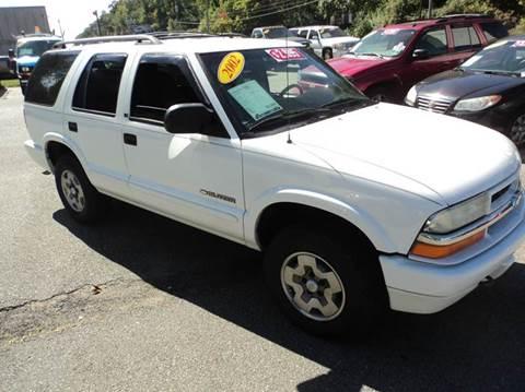 2002 Chevrolet Blazer for sale in Lake Hopatcong, NJ